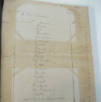Image of Mr. Ogle's grocery receipt, June 2, 1911