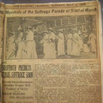 Image of newspaper clipping May 4, 1914