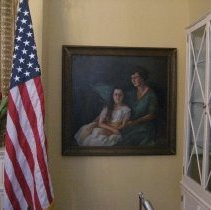 Image of L.V. Grimes portrait, in Lobby Room