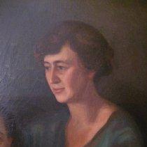 Image of L.V. Grimes portrait, detail of Lucia