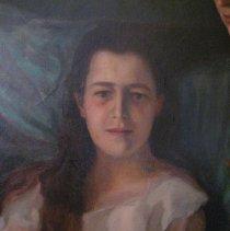 Image of L.V. Grimes portrait, detail Emily