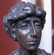 Image of Jeannette Rankin by Mimnaugh, face detail