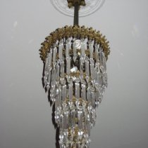 Image of Crystal Pendant Chandelier, detail