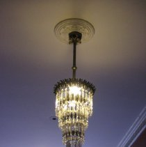 Image of Crystal Pendant Chandelier