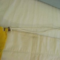 Image of Yellow cord detail