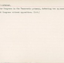 Image of National Woman's Party Congressional Voting Card Collection - 1915.010.006