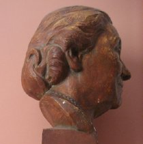 Image of Bust, Agnes Wells, side view