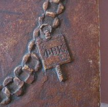 Image of Bust, Agnes Wells, chain pendant detail