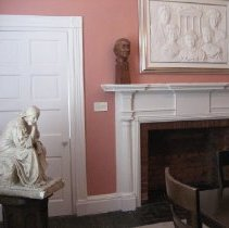 Image of Bust, Agnes Wells, in President's Room