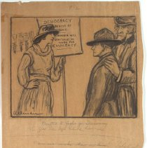 Image of Nina Allender Political Cartoon Collection - 1917.002.016