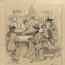 Image of Nina Allender Political Cartoon Collection - 1910.012.003