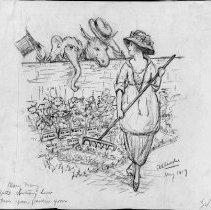 Image of Nina Allender Political Cartoon Collection - 1920.003.004
