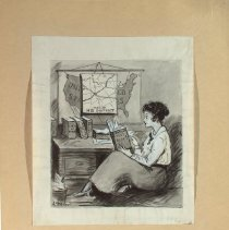 Image of Nina Allender Political Cartoon Collection - 1916.003.009