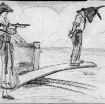 Image of Nina Allender Political Cartoon Collection - 1916.003.020
