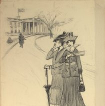 Image of Nina Allender Political Cartoon Collection - 1915.002.011