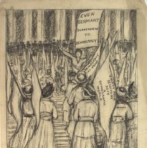 Image of Nina Allender Political Cartoon Collection - 1918.002.027