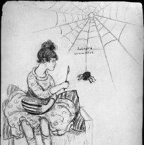 Image of Nina Allender Political Cartoon Collection - 1916.003.010
