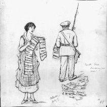 Image of Nina Allender Political Cartoon Collection - 1918.002.016