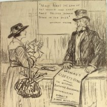 Image of Nina Allender Political Cartoon Collection - 1918.002.006