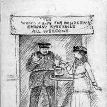 Image of Nina Allender Political Cartoon Collection - 1918.002.030