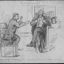 Image of Nina Allender Political Cartoon Collection - 1917.002.015