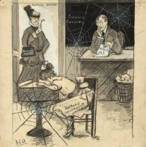 Image of Nina Allender Political Cartoon Collection - 1916.003.008