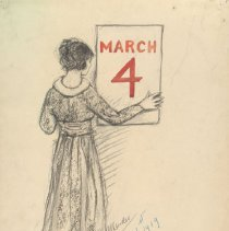 Image of Nina Allender Political Cartoon Collection - 1919.002.004