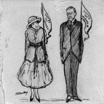 Image of Nina Allender Political Cartoon Collection - 1925.001.005
