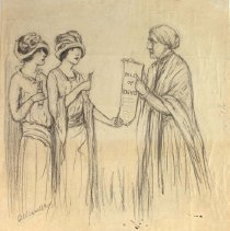 Image of Nina Allender Political Cartoon Collection - 1923.002.001