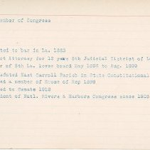 Image of National Woman's Party Congressional Voting Card Collection - 1915.032.008