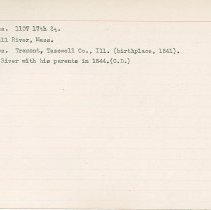 Image of National Woman's Party Congressional Voting Card Collection - 1915.040.006