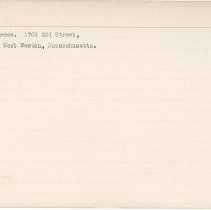 Image of National Woman's Party Congressional Voting Card Collection - 1915.058.014
