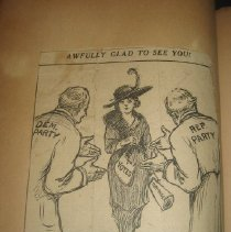 Image of newspaper cartoon clipping