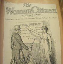 Image of newspaper political cartoon