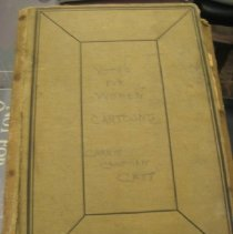 Image of scrapbook, front cover