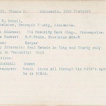 Image of National Woman's Party Congressional Voting Card Collection - 1915.071.001