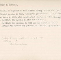 Image of National Woman's Party Congressional Voting Card Collection - 1915.091.009