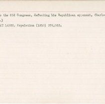 Image of National Woman's Party Congressional Voting Card Collection - 1915.093.005