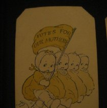 Image of postcard (c) 1918 Votes For Our Mothers