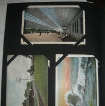 Image of postcards, including Union Station, Washingon, DC