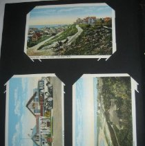 Image of postcards of Massachusetts