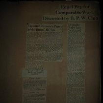 Image of newspaper clippings