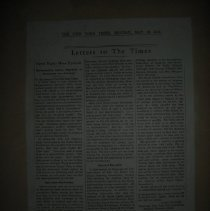 Image of newspaper article by Anita Pollitzer
