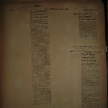Image of newspaper clippings about Equal Rights Amendment