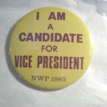 Image of National Woman's Party Button Collection - 1983.001.003