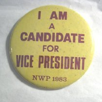 Image of National Woman's Party Button Collection - 1983.001.006