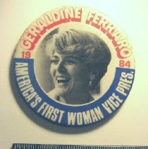 Image of National Woman's Party Button Collection - 1984.002