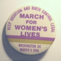 Image of National Woman's Party Button Collection - 1986.001