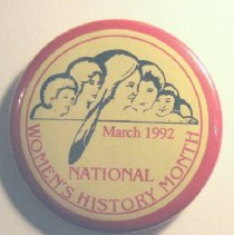 Image of National Woman's Party Button Collection - 1992.122.002