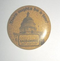 Image of National Woman's Party Button Collection - 2004.001.010
